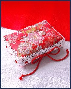 Japanese-style ring pillow
