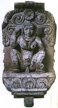 The SHEELA-na-GIG CONUNDRUM 17th century wooden statue of Kali menstruating.
