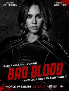 Taylor Swift's Bad Blood Music Video featuring Jessica Alba.