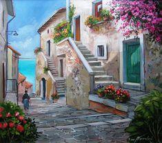 White Lotus Flower, Italian Artist, Paint Brushes, Home Art, Pastel, Watercolor, Portrait, Drawings, Artwork