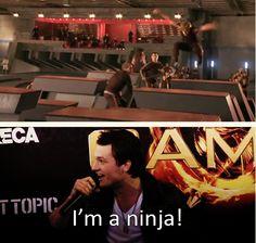 """I'M A NINJA!"""