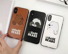 We Bare Bears Leather iPhone Case Bear Wallpaper, Cute Anime Wallpaper, Iphone 6, Iphone Cases, Bear Cartoon, Cute Cartoon, Polar Bear On Ice, V Chibi, Hot Candy