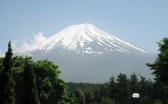 Mt Fuji with Clouds by sikosis, via Flickr