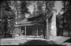 Unidentified cabin, New Mexico. Photo by T. Harmon Parkhurst, ca. 1925-45. Palace of the Governors Photo Archives 069123.