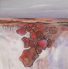 Diana Baker  Ancient Echoes Mixed media on paper $190