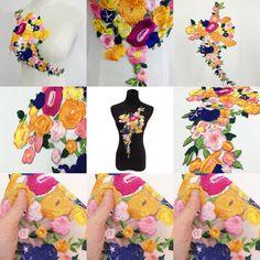 Applique, Strapless Dress, Patches, Dresses, Fashion, Strapless Gown, Vestidos, Moda, Fashion Styles