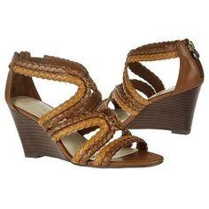 $68.99 Etienne Aigner Peanut Sandals Choco Tan Women`s Sandals class