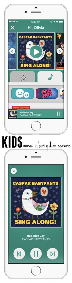 This cool kids music subscription service offers a fun, safe, and easy music experience created just for kids. Rhapsody KIDS lets you play the newest and most popular kids music available including hand-picked playlists. Feel safe knowing what your kids are listening to with parent-approved playlists and add your own music whenever you want. Each kid's favorite tunes are automatically downloaded for easy listening wherever you go, even offline. #RhapsodyKIDS AD @rhapsodymusic