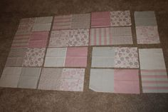 Fat Quarter Friday: Crib Quilt or Toddler Bed Blanket | Awaiting Ada