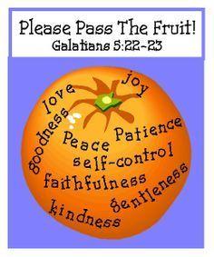 Fruit of the Spirit Game Galatians 5 Sunday School Kids, Sunday School Activities, Sunday School Lessons, Sunday School Crafts, Bible Games, Bible Activities, Bible Lessons For Kids, Bible For Kids, 4 Kids