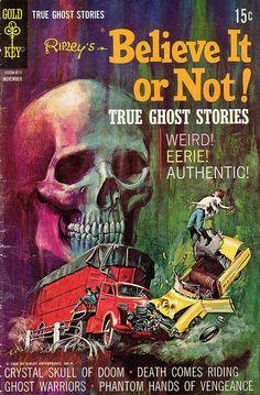 """""""Ripley's Believe It or Not"""" Comic #11, November 1968"""