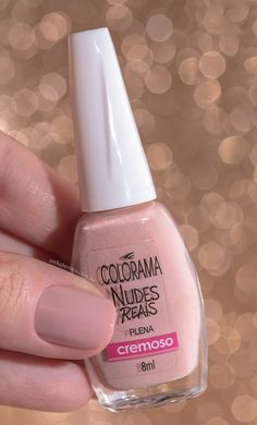 Veja como ficam nas unhas as novas cores da coleção Nudes Reais da Colorama aqui no Unha Bonita!