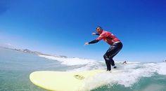 #Surfing ! #learntosurf in @lasantaprocenter #famara #lanzarote #Lasantaprocenter http://ift.tt/SaUF9M #Lasantasurfprocenter #surflanzarote #lanzarotesurf #surfcamp #surfcamplanzarote