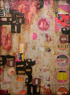 Collage/Mixed Media art by Jill Ricci