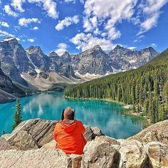 Jezioro Moraine w Kanadzie