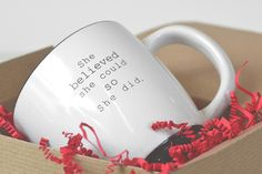 The perfect holiday gift ideas for co-workers or your fierce female friends Christmas Gifts 2016, Family Christmas, Christmas Time, Holiday Gifts, Creative Gifts, Craft Gifts, Thoughtful Gifts, Wedding Gifts, Craft Supplies