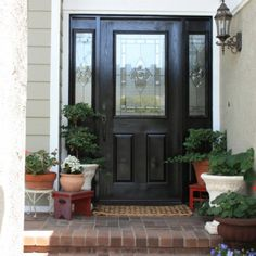 front doors on pinterest black front doors front doors and black. Black Bedroom Furniture Sets. Home Design Ideas