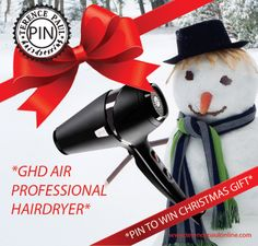 Join in the Terence Paul Christmas Fun and Re Pin, as even snowmen need great looking Hair.