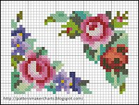 Free Easy Cross, Pattern Maker, PCStitch Charts + Free Historic Old Pattern Books: Patterns for Embroidering on Canvas 6