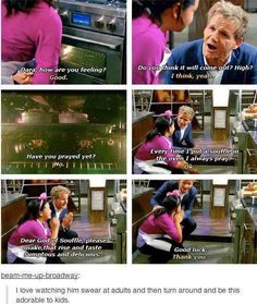 Gordon Ramsey #funny<<<< I thought the hashtag was #fluffy and I still don't necessarily see a problem.
