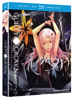 Guilty Crown DVD/Blu-ray Part 2 (Hyb) #Rightstuf2014