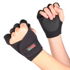 [US$7.59] Mumian F01 Cycling Gym Fitness Training Half Finger Sports Gloves - 1 Pair #mumian #cycling #fitness #training #half #finger #sports #gloves #pair