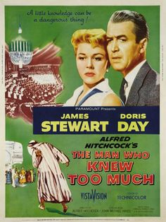O Homem que Sabia Demais (The Man Who Knew Too Much - 1954) Dir: Alfred Hitchcock.
