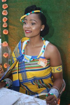 African Wedding Attire, African Attire, Venda Traditional Attire, Wedding Blog, Wedding Cake, South African Traditional Dresses, Wedding Outfits, Wedding Dresses, South African Weddings