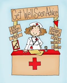Dearie Dolls: Get Well Soon Advice From the Nurse Get Well Messages, Get Well Wishes, Get Well Cards, Digi Stamps Free, Digital Stamps, Get Well Soon Quotes, Well Images, Clipart, Homemade Cards