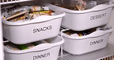 Organize your pantry for less with these dollar store DIY pantry organization ideas. These organizing ideas are perfect for small pantries to help you maximize your space. There are cheap pantry organization and storage ideas for cans, jars, spices, snacks and much more! Closet Storage Bins, Diy Kitchen Storage, Kitchen Pantry, Pan Storage, Bathroom Storage, Cheap Kitchen, Garage Storage, Pantry Organization Labels, Closet Organization