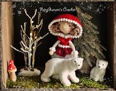 Amigurumi - Zelia the Christmas doll - tutorial by FairyGurumi's Crochet