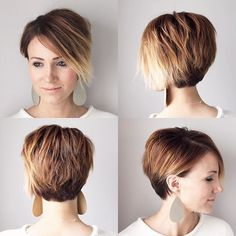 Long pixie 360 from a few weeks back. It's amazing how fast short cuts can change. #shorthair #longpixie #pixie360 #nothingbutpixies @nothingbutpixies
