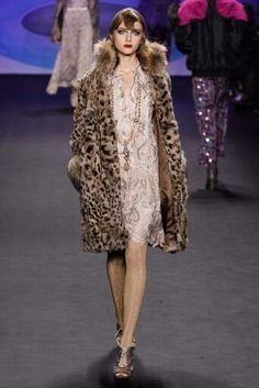 Anna Sui Fall/Winter 2014-2015 New York