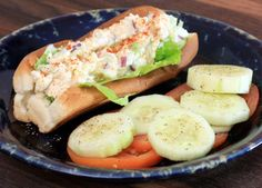 Creamy Southern-Style Chicken Salad with Dill Relish: Southern-Style Chicken Salad in a Sandwich Roll Use low fat mayo