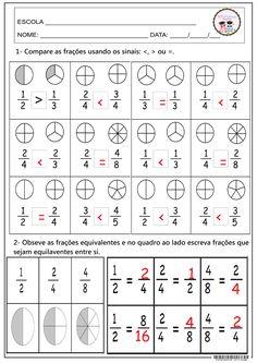 Zine, Math Class, Words, Subtraction Activities, Math Exercises, School, Stuff Stuff, Fractions, South America