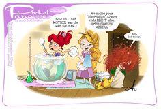 New Pocket Princess, Pocket Princess Comics, Im A Princess, Original Disney Princesses, Disney Princesses And Princes, Pocket Princesses, Disney And Dreamworks, Disney Pixar, Walt Disney