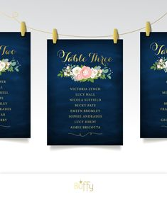 PRINTED 5 x 7in Seating Chart Table Cards are on 110lb Smooth Ultra White Mohawk Premium Paper stock. ( Paper Upgrades available ) View the entire JENNY collection: https://www.etsy.com/shop/BuffyWeddings/search?search_query=JENNYℴ=date_desc&view_type=gallery&ref=shop_search -