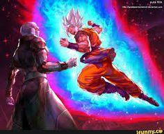 Hooy Well I wanted to do something with Black Goku, so. At this point on DBS I think it's the body of Mirai Goku which is used by the unknown Kaio named as Zamasu. Hit Vs Goku, Goku Vs, Dbz Vegeta, Thundercats, Super Saiyan Blue Kaioken, Manga Dbz, Dragonball Super, Goku Super, Foto Do Goku