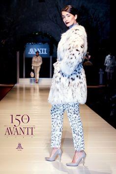 AVANTI FURS Unique White Lynx Cat Jacket (Only Bellies) #Lynx_Cat #Top_Quality #avantifurs #catwalk #athens  www.avantifurs.com