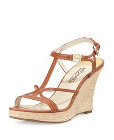 7af1b9f3527 Michael Kors - Cecily Michael Kors Wedge Sandals