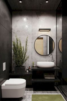 Modern Small Bathroom Design The Basic Components of Modern Bathroom Designs Modern Small Bathroom Design. Incorporating a modern bathroom design will give you a more … Modern Bathroom Design, Bathroom Interior Design, Interior Decorating, Bathroom Designs, Decorating Ideas, Modern Sink, Modern Toilet Design, Decorating Bathrooms, Decorating Websites