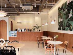 [345] 커피카페인테리어 / 20평카페 인테리어 견적 : 네이버 블로그 Coffee Shop Design, Cafe Design, Coffee Cafe Interior, Salad Shop, Cafe Counter, Cafe Concept, Room Interior, Interior Design, Cafe Style