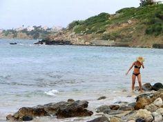 Lapta beach near Girne, southern Cyprus