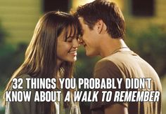 32 Things You Probably Didn't Know About 'A Walk To Remember'