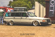 1992 240 Volvo on airbags Players Classic 2014 | Slam Sanctuary