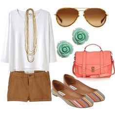 Coral looks best with tan skin tones! Love this!