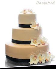 Esküvői és házassági évfordulós torták