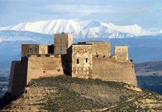 Castillo de Monzón (Huesca), Spain.