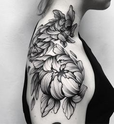 Flower shoulder tattoo - 70 Awesome Shoulder Tattoos