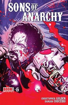 Sons of Anarchy – The Comic Book cover 6